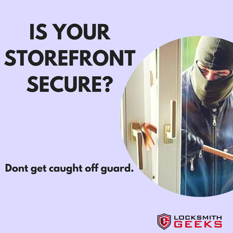 Don't be caught off guard... secure your storefront