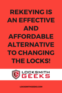 Commercial Locksmiths Can Rekey!