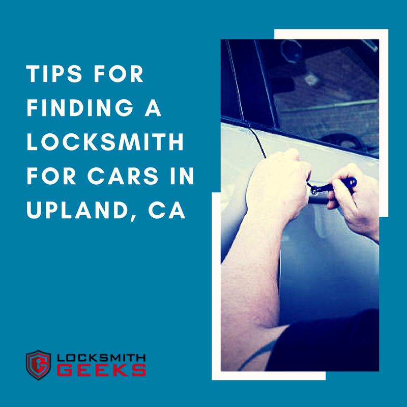 locksmith near me in upland